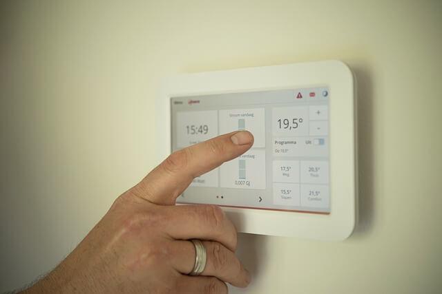 Inteligentny dom - tablet